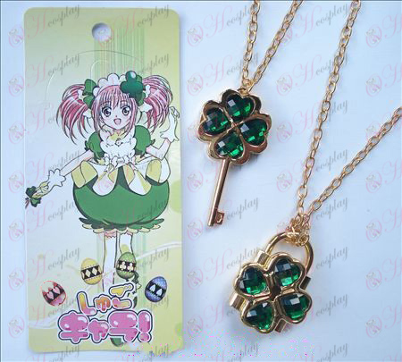 Shugo Chara! Accessories movable Necklace (Green)