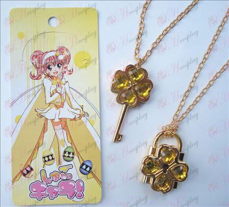 Shugo Chara! Accesorios móviles Collar (amarillo)