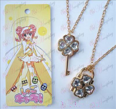 Shugo Chara! Acessórios móveis Necklace (Branco)