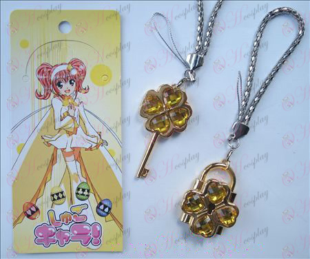 Shugo Chara! Accessories movable couple phone chain (yellow)