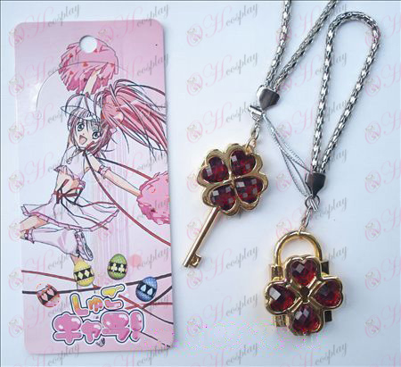 Shugo Chara! Accessories movable couple phone chain (red)