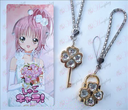 Shugo Chara! Accessories movable couple phone chain (white)