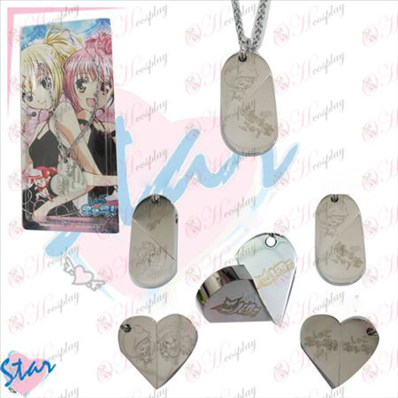 Shugo Chara! Accessories necklace heart-shaped transition