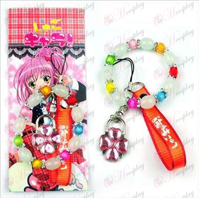 Blisterkaart Shugo Chara! Accessoires Machine Strap + armband (slot)