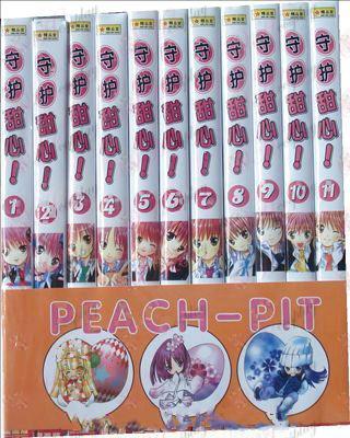 Shugo Chara! Acessórios quadrinhos (1-11)