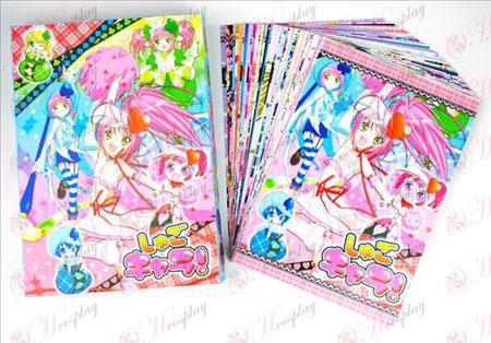 Shugo Chara! Аксесоари Пощенски картички + карти 2