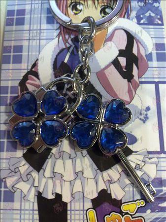 Shugo Chara! Accessories Couple Keychain (Blue)