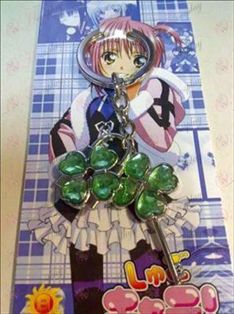 Shugo Chara! Tillbehör Par nyckelring (Grön)