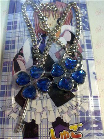 Shugo Chara! Doplnky Náhrdelník (modrá)