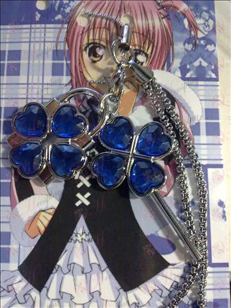 Shugo Chara! Модные аксессуары телефон ремешок (синий)