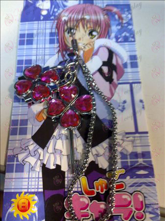 Shugo Chara! Accessories couple phone chain (pink)