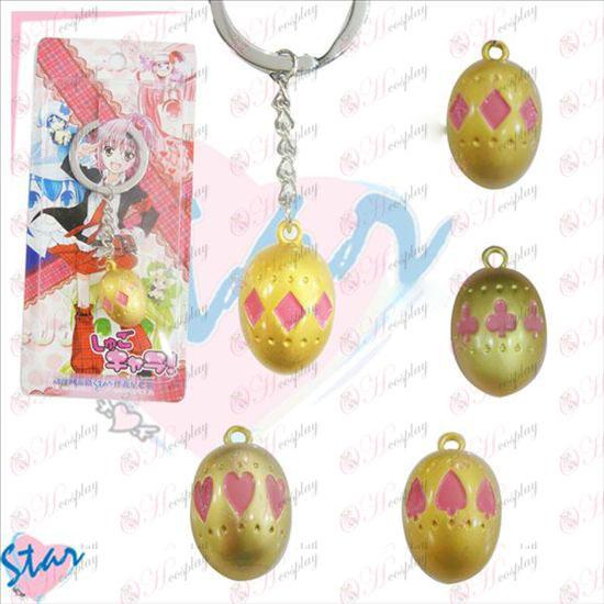 Shugo Chara! Tilbehør soul Egg nøglering Gold (måneder)