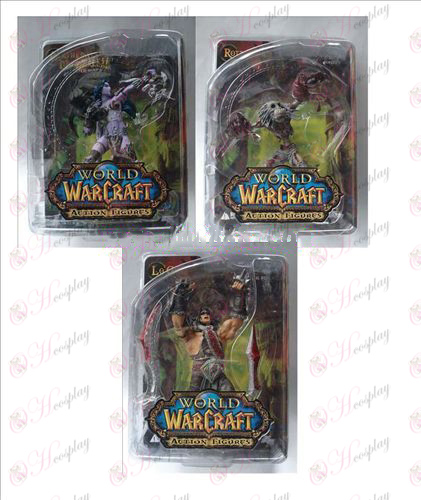 3 World of Warcraft AccessoriesDC5 de hand te doen