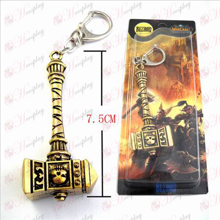 World of Warcraft Tillbehör Marshal Warhammer World Brons Keychain