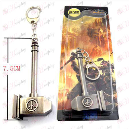 World of Warcraft Accessoires Warhammer wereld Sigil Keychain