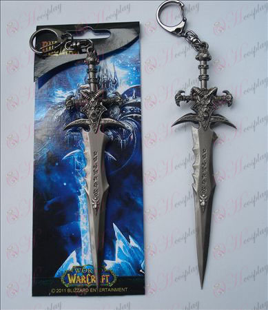 World of Warcraft Frostmourne Accessori spada fibbia (14,5 centimetri)