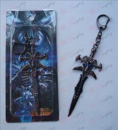 World of Warcraft אבזרים Frostmourne חרב האבזם