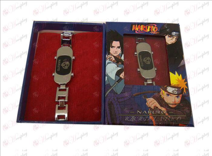 D Naruto écrire ronde bracelet de planche à roulettes yeux