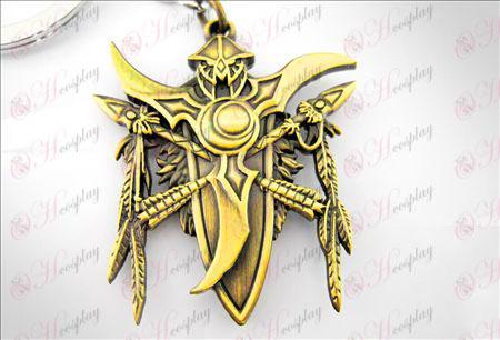 World of Warcraft Tilbehør Night Elf Key Chain