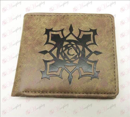Vampire matte Brieftasche