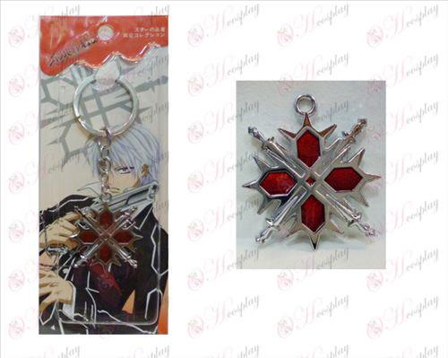 Vampire knight oprema logotip obesek za ključe