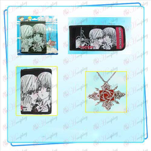 Upír Náhrdelník fold peňaženka combo (náhrdelník náhodné distribúcia)