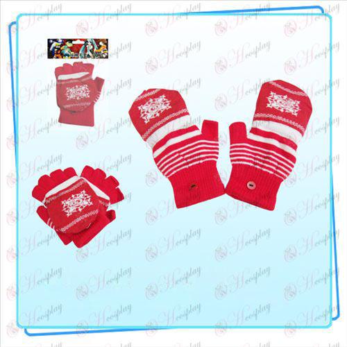 Vampire knight Accesorios de doble guante (rojo)