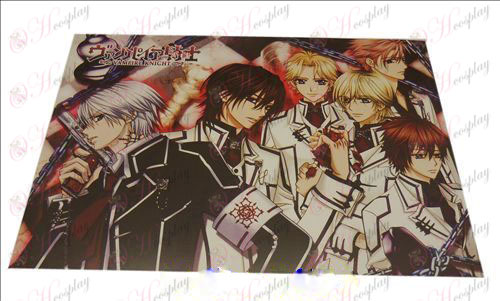 D42 * 29Vampire knight Accessories embossed posters (8)