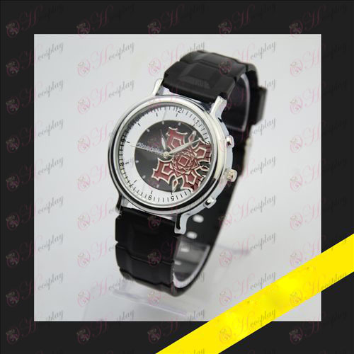 Embossed skeleton watch - Vampire