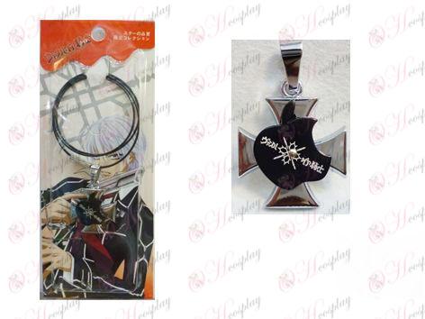 Vampire knight accessoires collier de fil de logo