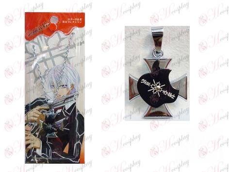 Vampire knight accessoires logo Apple Série O collier de mot d'