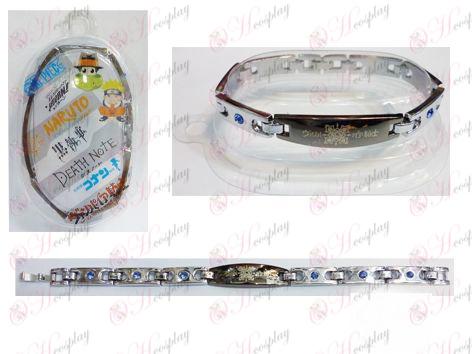 Vampire bloemlogo roestvrijstalen diamanten armband