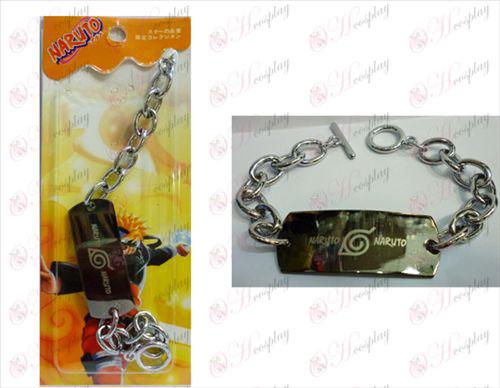 Naruto large 0 word chain bracelet
