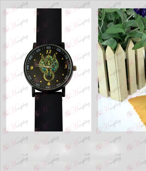 Final Fantasy Accessories Color Emboss sports watch
