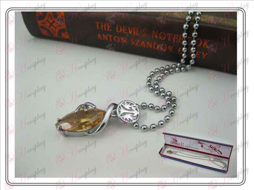 Final Fantasy Accessories Collector\'s Edition hardcover necklace (champagne)