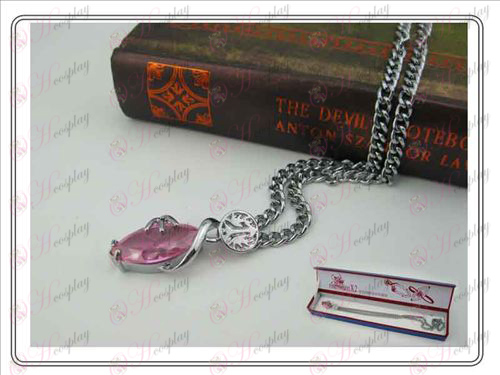 Final Fantasy Accessories Collector's Edition hardcover Necklace (Pink)
