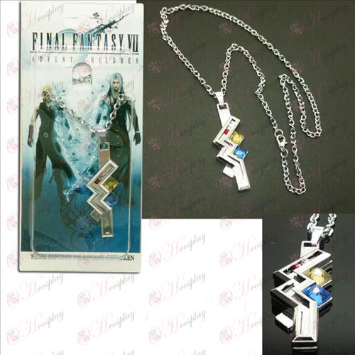 Final Fantasy Accessories13 Thunder носит ожерелье
