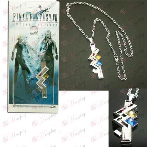 Final Fantasy Tilbehør13 Thunder iført halskæde