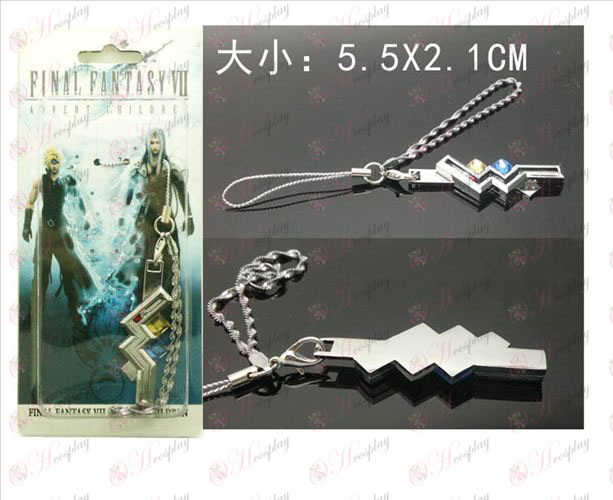Final Fantasy Accessories13 Thunder telefoon touw hangers machine