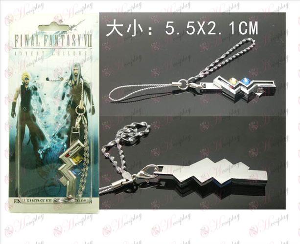 Final Fantasy Accessories13 Thunder phone rope pendants machine
