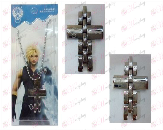 Final Fantasy Accesorios bicolor cruz collar