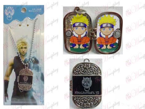 Final Fantasy Accessoires Photo Frame Series o mot collier