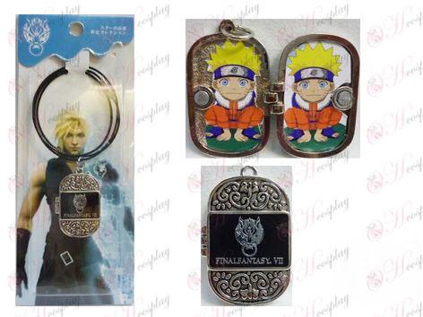 Accesorios Foto Frame cadena de acero Serie Final Fantasy