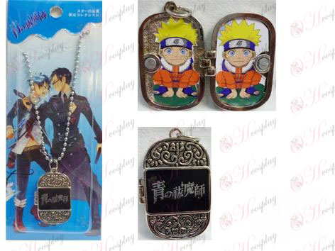 Blue Exorcist Photo Frame Series 0 word necklace