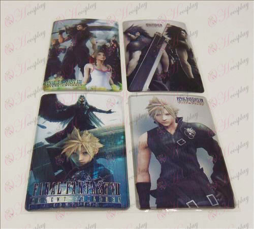 4 PVCFinal Fantasy Accessori simcard