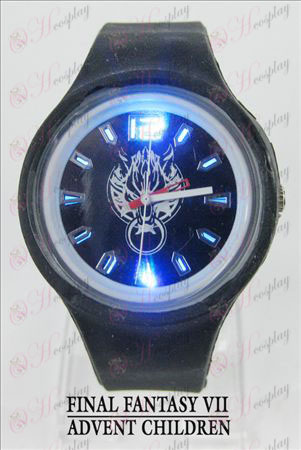 Coloridas luces intermitentes deporte reloj de Final Fantasy Accesorios