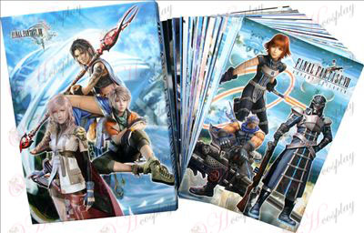 Final Fantasy Accessories Space Postcard 1