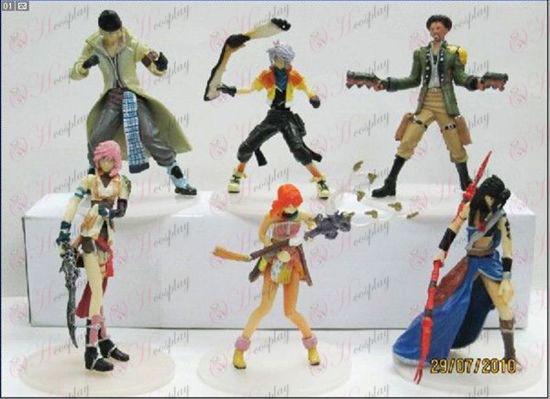 Edição limitada Final Fantasy acessórios da boneca (8-9cm Paperback)