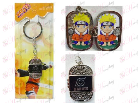 Naruto Konoha Photo Frame Keychain