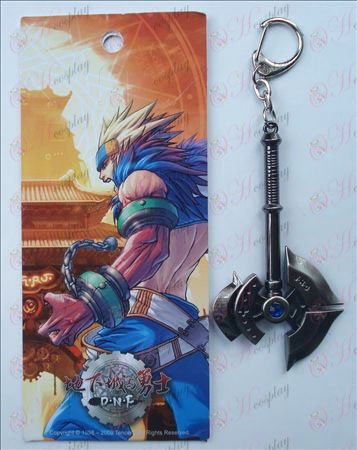Podzemné do Warriors s Keychain (ax)